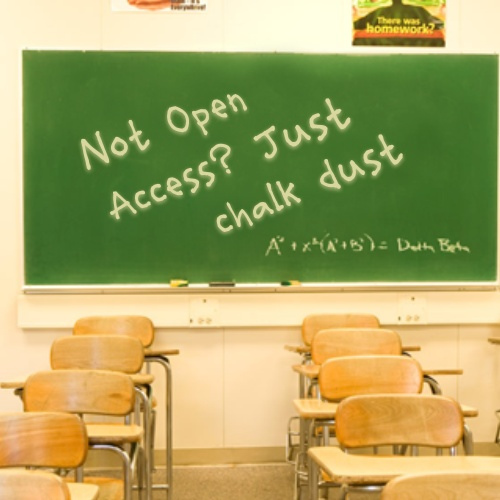 Open Access Chalkboard by Gideon Burton