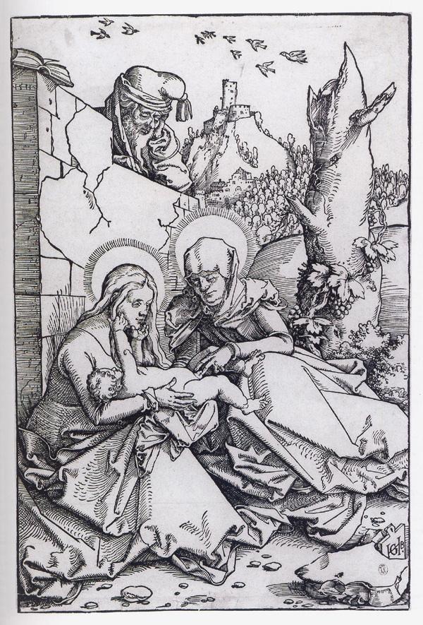 Abbildung 2: Hans Baldung Grien, Die hl. Anna Selbdritt mit dem hl. Joseph, 1511