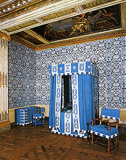 Rekonstruierte Einrichtung des Hôtel de Sully in Paris