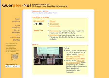 Querelles-Net Startseite