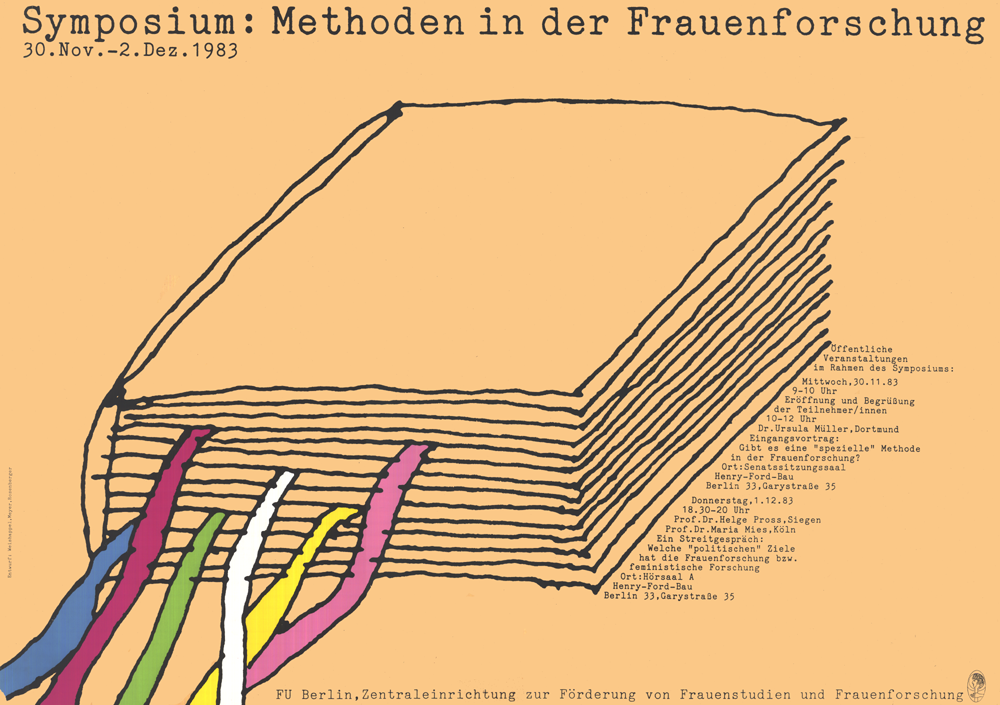 """1. Symposion der Zentraleinrichtung """"Methoden in der Frauenforschung"""""""