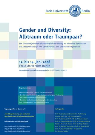 3. Tagung GenderKompetenz (2006)