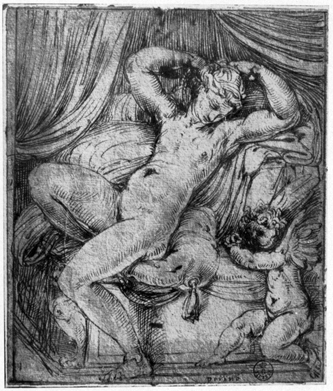 Vaga: Venus und Amor (1527)